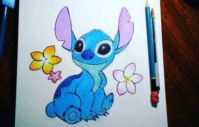 Lilo and Stitch Fanart by JR-Sketcher
