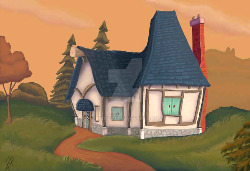 Little cabin by Ru1788