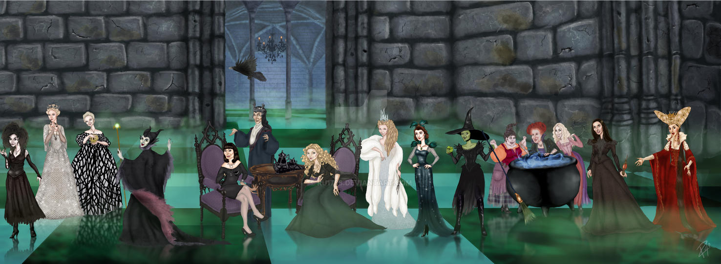 The Witches by Ru1788