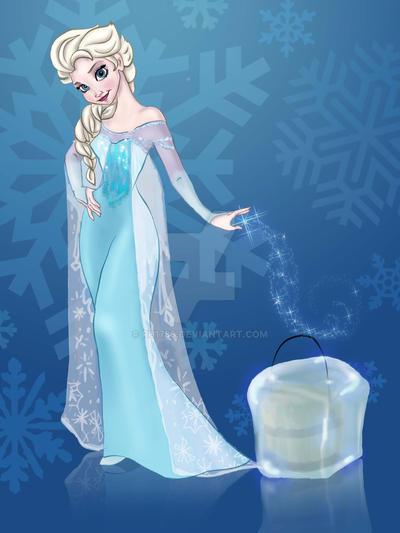 Ice Bucket Challenge - Frozen by Ru1788
