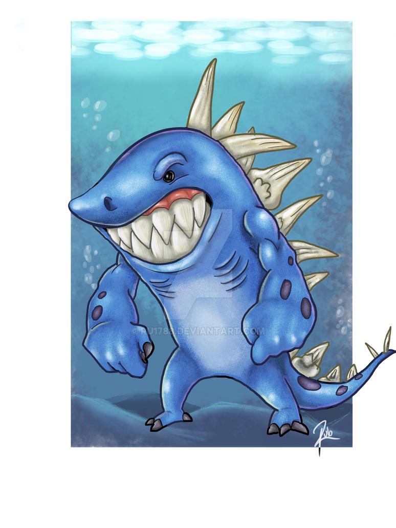 Dinoshark by Ru1788