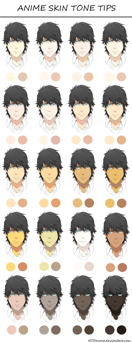 anime skin tone tips by danzzila