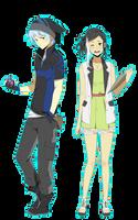 Older Nero and Mae by danzzila