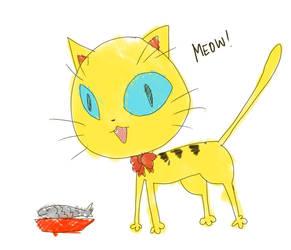 kitty kitty by danzzila