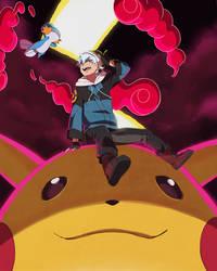 My Pikachu is huge