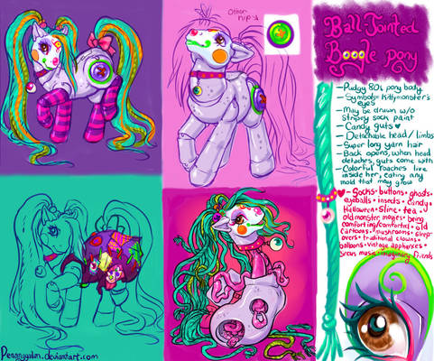 Ball-Jointed Boogle Pony Ref