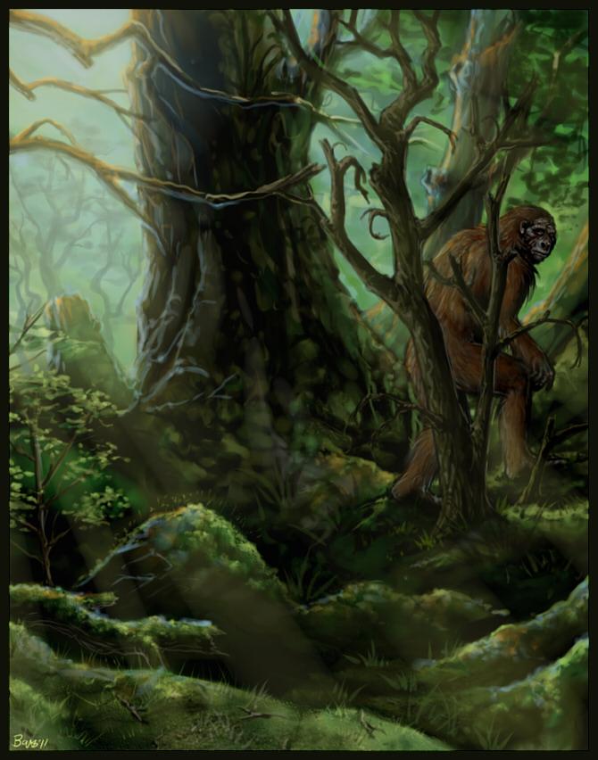 Bigfoot by Penanggalan