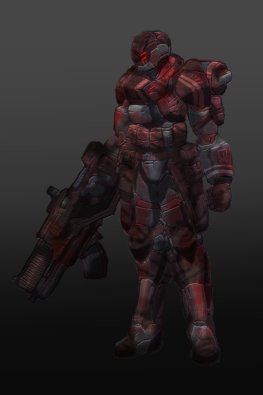 Bloodforge Marine Tactical by RailgunTogepi