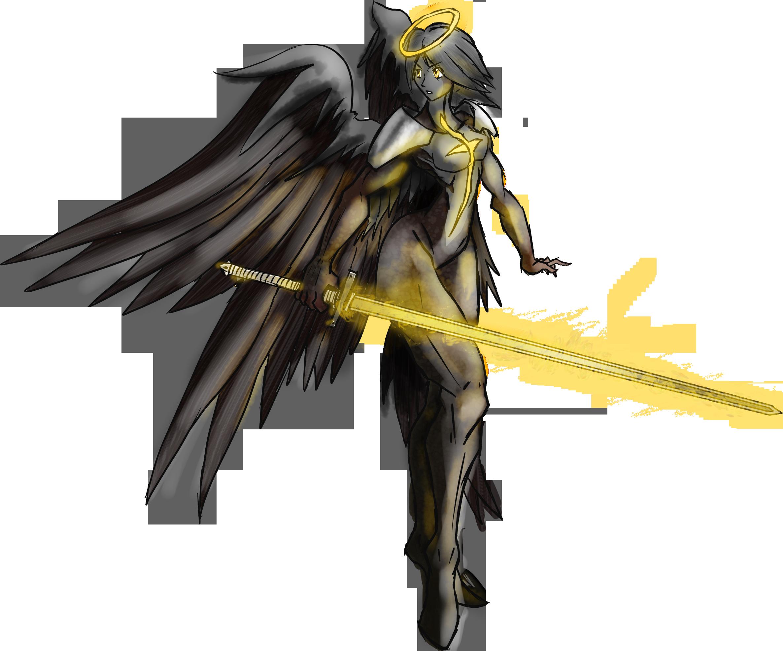 Dark,Monster&Demon - Page 2 Angelic_demon_hunter_modnation_character_by_railguntogepi-d58qa17