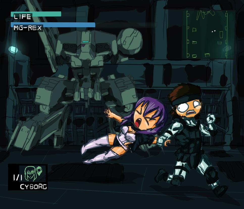 Ghost in the Metal Gear by RailgunTogepi