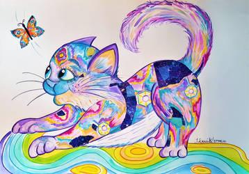 Baby Cosmic Kitten!