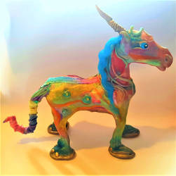 Florence the Multi colour Unicorn !