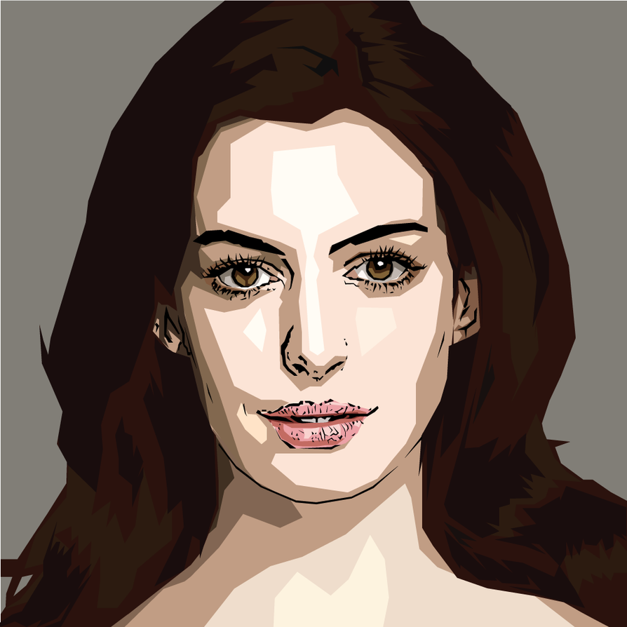 Anne Hathaway Drawing: Anne Hathaway By AQuadroGRAphx On DeviantArt