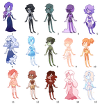 Mini Pearl Adopts (100 points each)