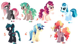 Pixel Pony Adopts by Points-for-Fritty