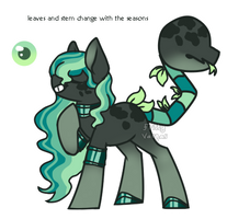 Plant Pony custom for loolamun by Points-for-Fritty