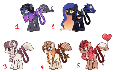 Plant Pony Mood board Adopts (2/5) by Points-for-Fritty