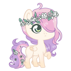 chibi blossomforth by Points-for-Fritty