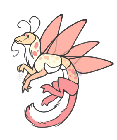 Bug Dragon adopt! by Points-for-Fritty