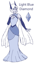 Blue Lugia Diamond (redesign) by Points-for-Fritty
