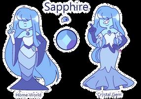 Sapphire for ShinySmeargle