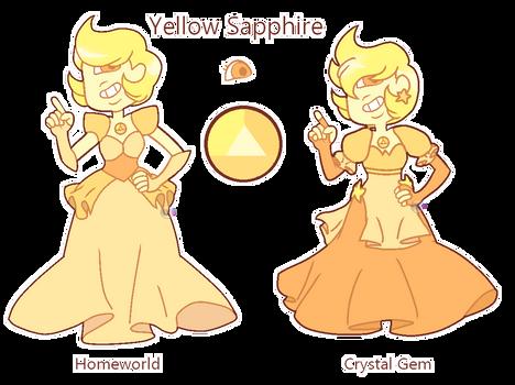 Yellow Sapphire for Artstarmi