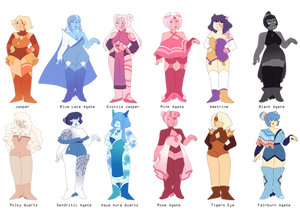 Quartz/Agate Adopts! (Paypalonly) 10/12