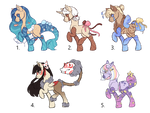 Closed Species Adopts (paypal only)