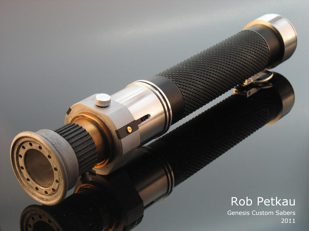 Corran Horn's Lightsaber by Madcow-Genesis