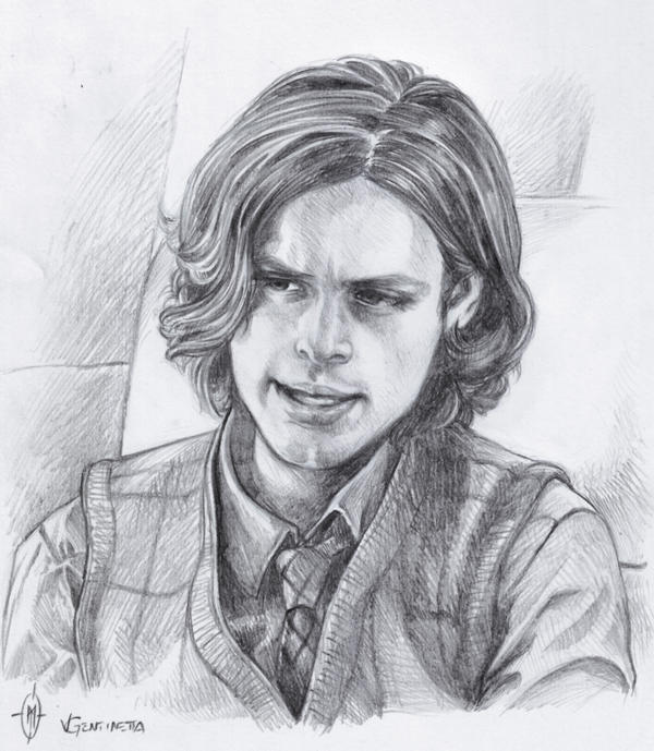 Spencer Reid 09 By Whiteshaix On Deviantart