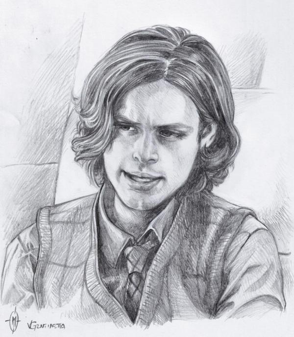 Spencer Reid 09 By Whiteshaix On Deviantart