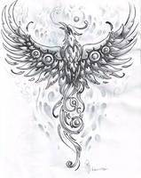 Mechanical phoenix - 02 by whiteshaix