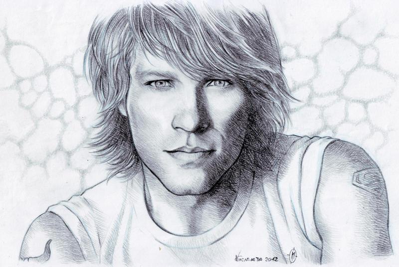 Jon Bon Jovi by whiteshaix