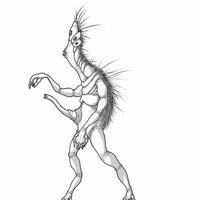 Human Echinoderm (Star Maker) by Vanga-Vangog