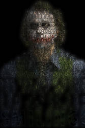 Heath Ledger's Joker - Typography by geo-almighty