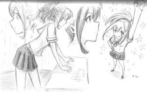 Akiho sketch by Epiroogu