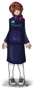 Sofi in Neilani school uniform