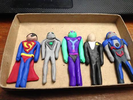 DC Clay Sculptures (set 2)