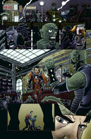 Fear Agent Sample Page Color by Blamrob