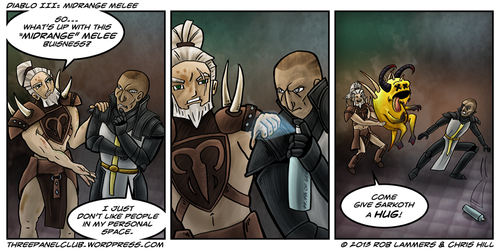 Diablo III: Midrange Melee by Blamrob