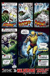 Hulk #180 Wolverine Page Color