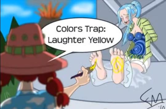 Vivi tickled by dragonborn1999