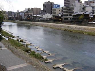 Kyoto Riverbank by Immortal-Dreamer