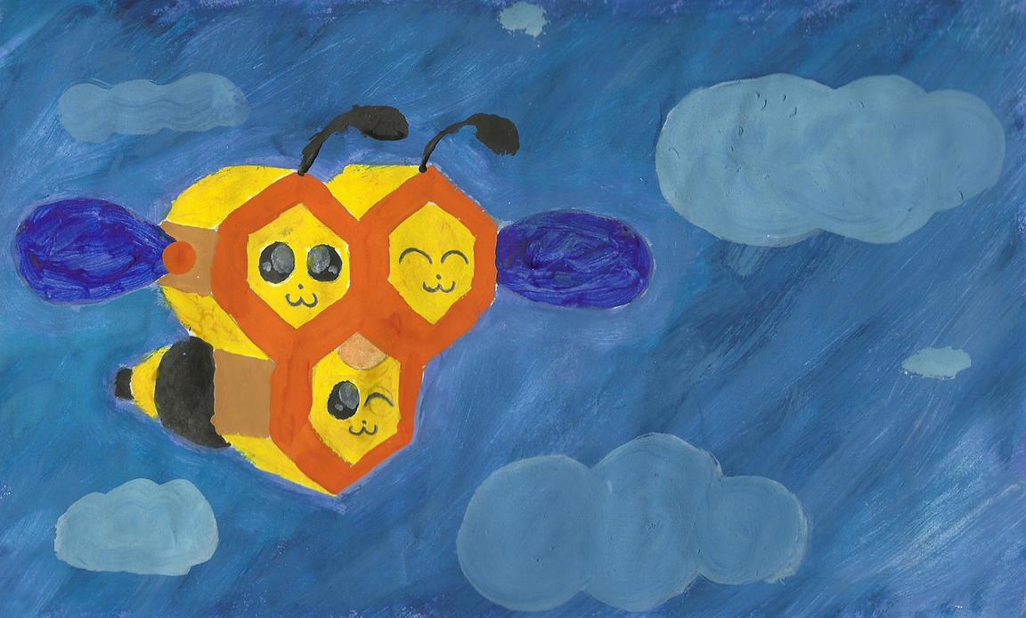 Watercolor Combee by DFX4509B