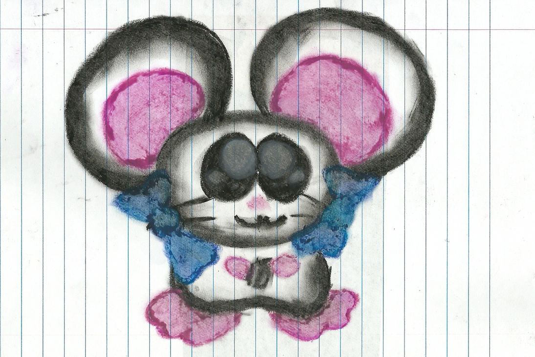 Just a quick oil pastel Bijou by DFX4509B
