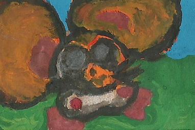 Hamtaro Mini-painting by DFX4509B