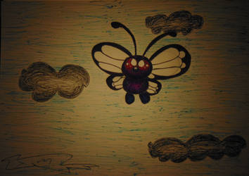 Rollerball Butterfree by DFX4509B