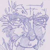 Peter Capaldi Biro Shading by bromley001