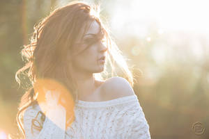 Golden sun by BloodSuccubus