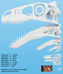 3D Printing size/price chart by MithosKuu
